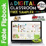 FREE Digital Classroom Fables Ant & Grasshopper RL3.2 RL3.3 RL3.6 RL4.2 RL4.3