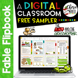 FREE Distance Learning Digital Fable Reading Passage Ant &