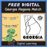 FREE Digital Georgia Regions Match
