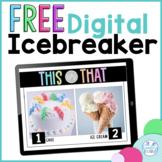 FREE Digital Icebreaker Activity for Google Classroom™