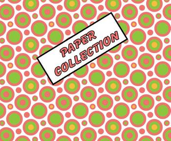 FREE! Digital Paper Collection: Retro Circles and Squares