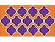 FREE Digital Paper - Purple & Orange Moroccan