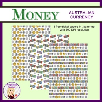 FREE Digital Papers - Money (Australian Currency)