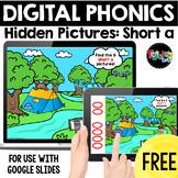 FREE Digital Phonics: Hidden Pictures CVC Short a