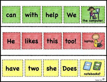 Google Classroom™ Activities Sight Words Back to School Digital Resources