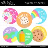 FREE Digital Stickers 1 - [Ashley Hughes Design]