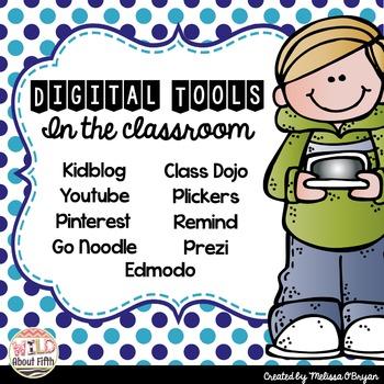 FREE Digital Tools in the Classroom List