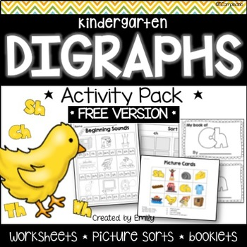 FREE Digraph Activity Pack