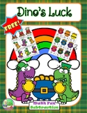 FREE Dino's Luck ☘ Math Game (Subtraction)