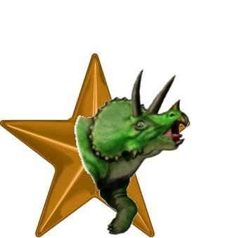 FREE Dinosaur Themed Bronze Award/Certificate- EDITABLE!
