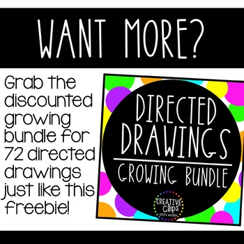 FREE Directed Drawing: Love Monster {Made by Creative Clips Clipart}