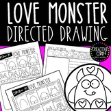 FREE Directed Drawing: Love Monster {Made by Creative Clip
