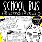 FREE Directed Drawing: School Bus {Made by Creative Clips