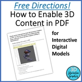 FREE Directions for Enabling 3D Content in PDF