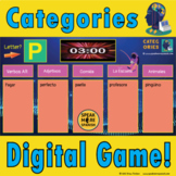 FREE Spanish Distance Learning Categories Game. Juego Grat
