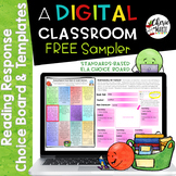 FREE Distance Learning Digital Choice Board & Templates fo