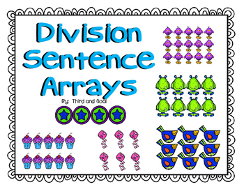 Division Array Task Cards