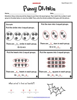 FREE Division Worksheets (Sample)