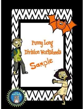 FREE Division Worksheets (Sample)