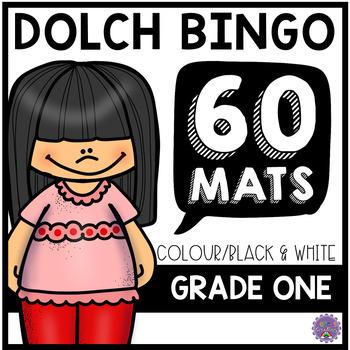 Dolch Grade One Sight Word BINGO