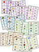 FREE Dolch Noun Sight Word Flash Cards - COLOR