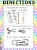FREE Dolch Noun Sight Word KEYRING CARDS - COLOR