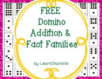 FREE Domino Addition and Fact Families