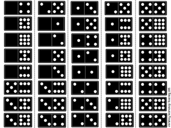 FREE Domino Sorting Mats