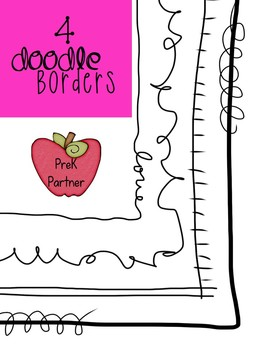 FREE! Doodle Borders {PKP}