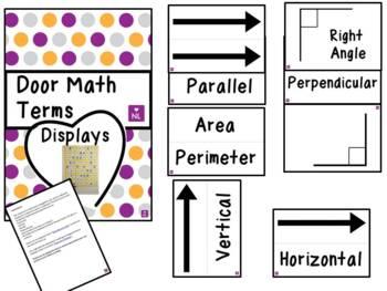 FREE Door Math Terms (Display)