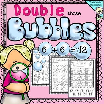 Double Numbers Worksheet/ Free!!!!