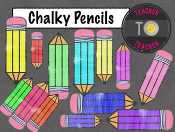 FREE Download -Back To School: Crayon clipart {TeacherToTe