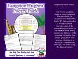 FREE Download: Language Arts Langston Hughes Poetry Lessons