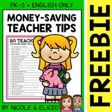FREE Download - Teacher Tips