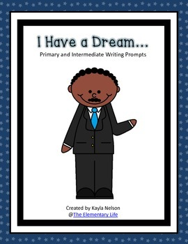 FREE Dr. Martin Luther King Jr. Writing Prompt