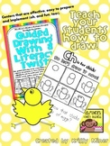 FREE Draw It Now Spring Chick Literacy Center-Easy to Prepare & Implement