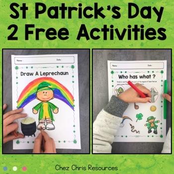 FREE : Draw a Leprechaun - Saint Patrick and Leprechauns : symbols