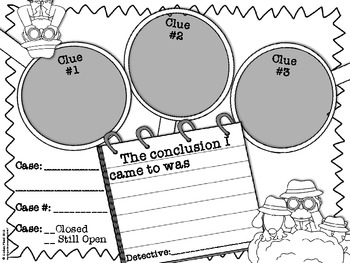 free drawing conclusions graphic organizer by lindsay flood tpt. Black Bedroom Furniture Sets. Home Design Ideas