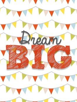 FREE Dream Big Poster