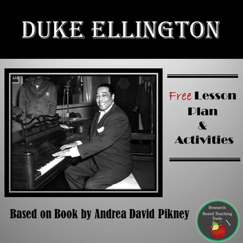 FREE Duke Ellington Lesson Plan & Activities