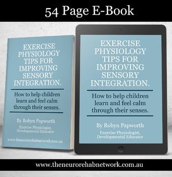 Sensory Integration Therapy Ideas for Kids Ebook for Educators and Parents