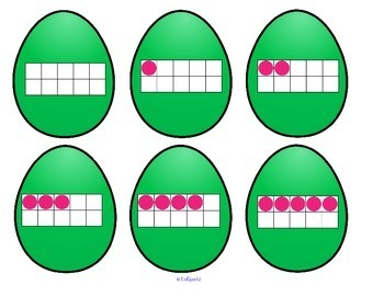 EASTER EGGS Counting and Sorting 7 Ways That Numbers Can be Shown