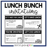 FREE EDITABLE LUNCH BUNCH INVITATIONS