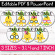 FREE EDITABLE Table Signs and Editable Name Tags - Pineapple Classroom Decor