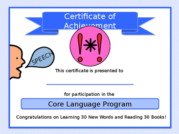 "FREE: EDITABLE ""Year of Core"" Completion Certificate"