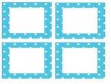 FREE!! EDITABLE polka dot library labels
