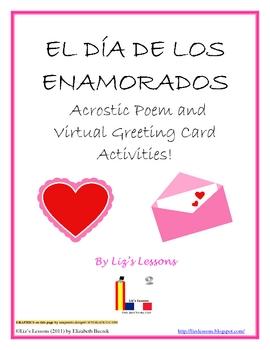 Free el dia de los enamorados poem and virtual greeting cards m4hsunfo