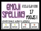 FREE EMOJI Spelling- Food Edition!