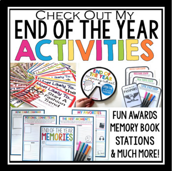 FREE END OF THE YEAR GIFT FOR STUDENTS: WRITING #EOYGiftsforBigKids