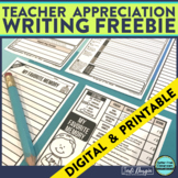 FREE END OF THE YEAR WRITING ACTIVITY Printable & Digital